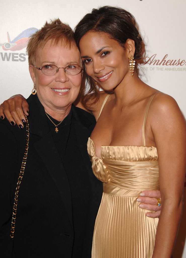 Halle Berry and her mum, Judith, snapped a photo together at Ebony's Pre-Oscar Celebration in February 2007.
