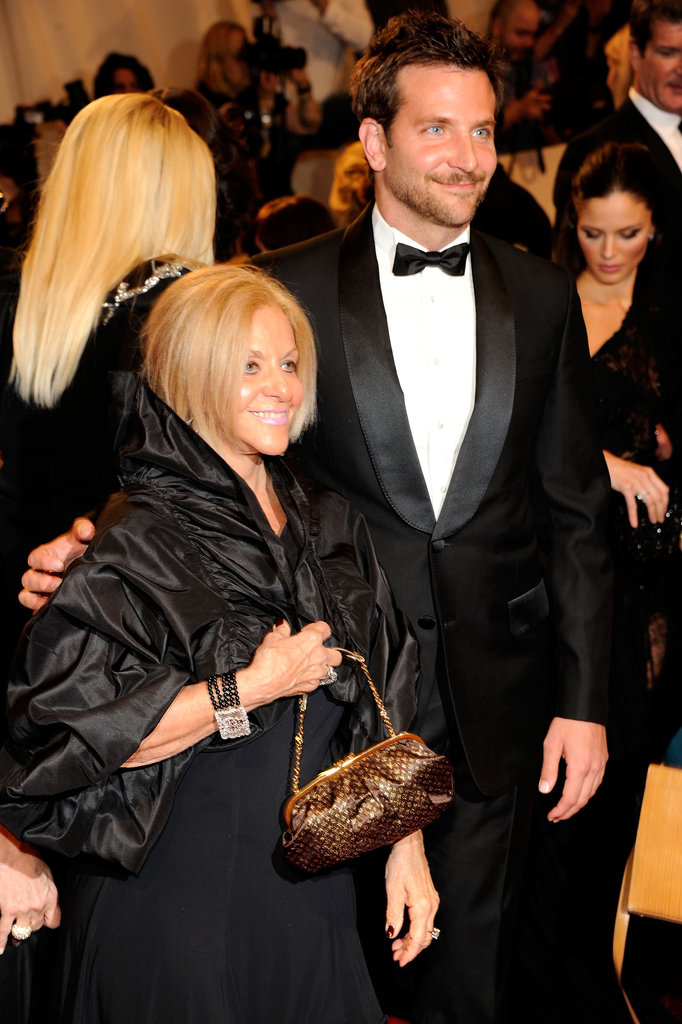 Bradley Cooper brought his mum, Gloria, to NYC's Met Gala in 2011.