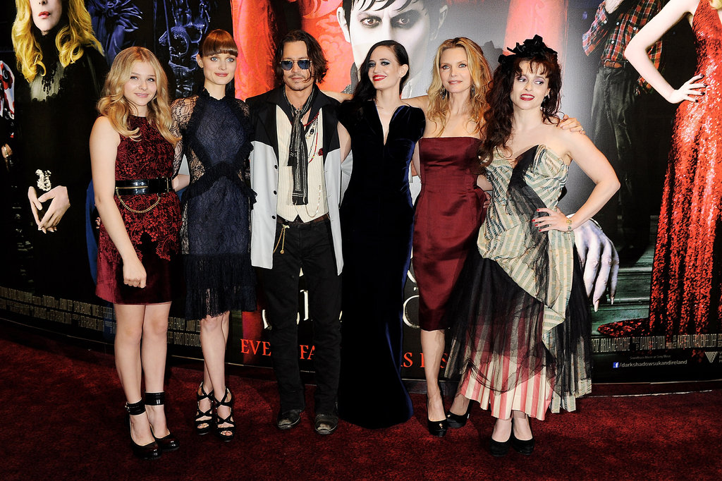 Johnny Depp Brings Dark Shadows to London