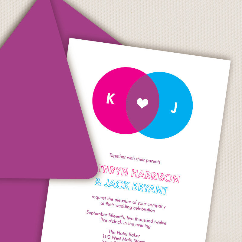 Venn Diagram Invitations ($3)