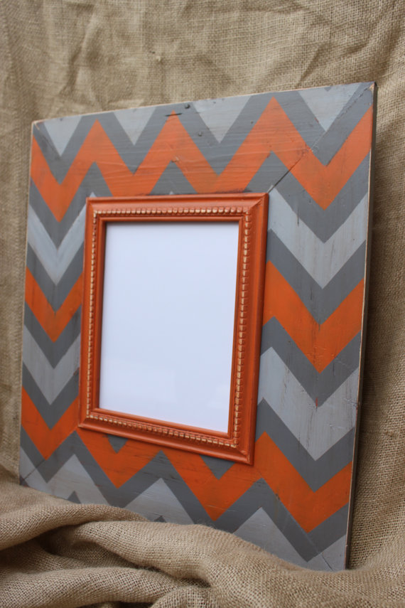 Delta Girl Frames Distressed Wood Frame ($130)