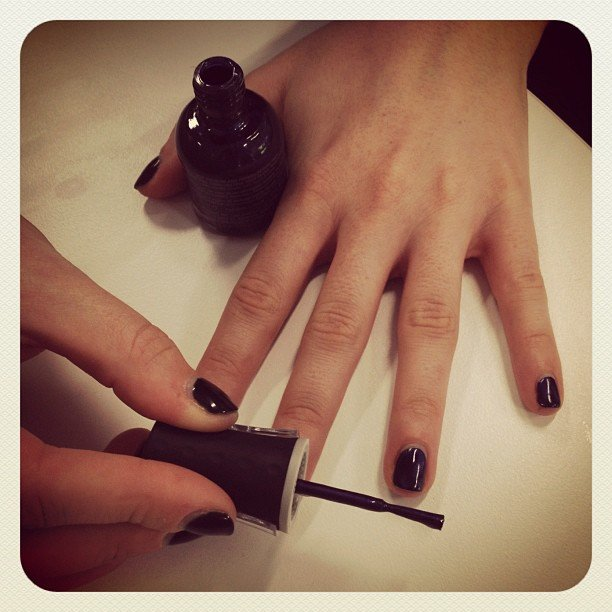 Sarah gave Orly's Magnetic FX nail polish a test ride.