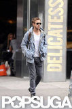 Ryan Gosling walked around NYC.