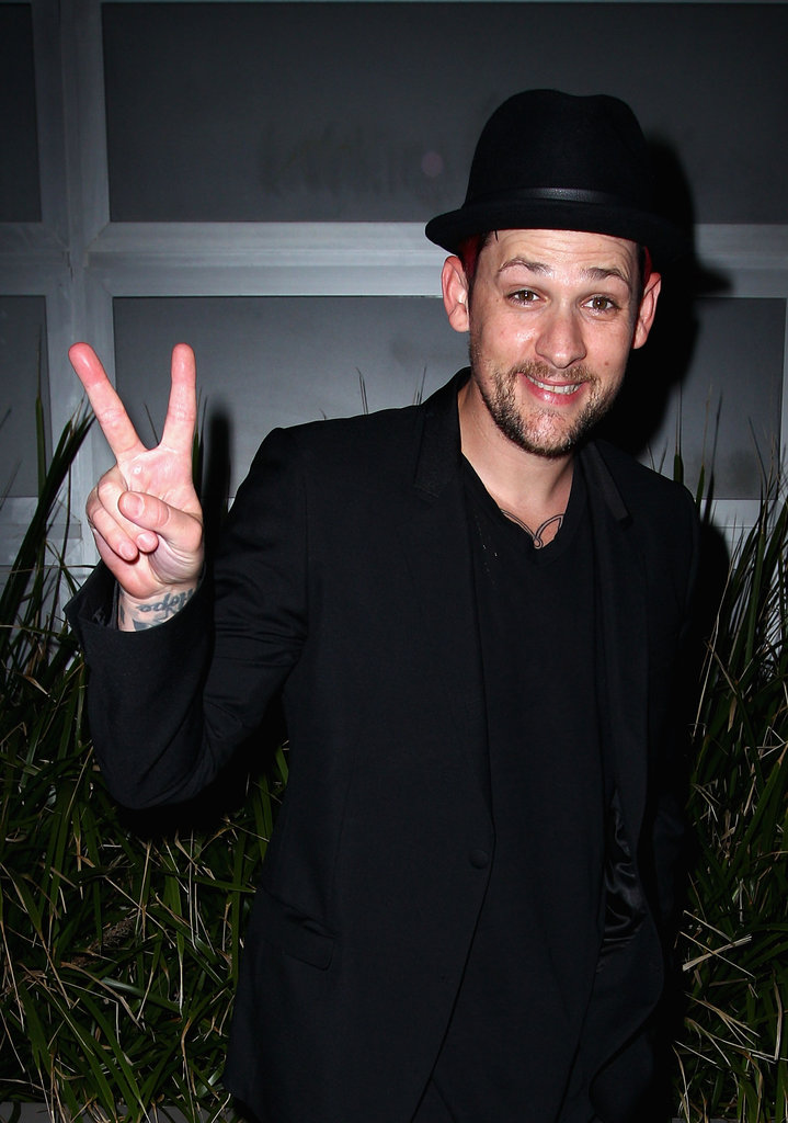 Joel Madden goofed around at a party for The Voice Australia in Sydney.