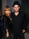 Nicole Richie and Joel Madden dressed to go to a party for The Voice Australia in Sydney.