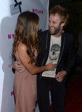 Nikki Reed and her husband Paul McDonald shared a cute moment on the red carpet.