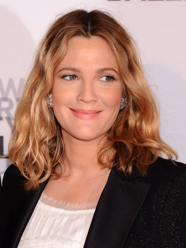 Drew Barrymore arrived at New York City Ballet's 2012 Spring Gala.
