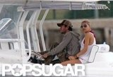 Anna Kournikova and Enrique Iglesias took their boat out for a ride around Miami in May 2011.