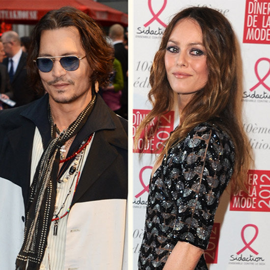 Johnny Depp Denies Split From Vanessa Paradis