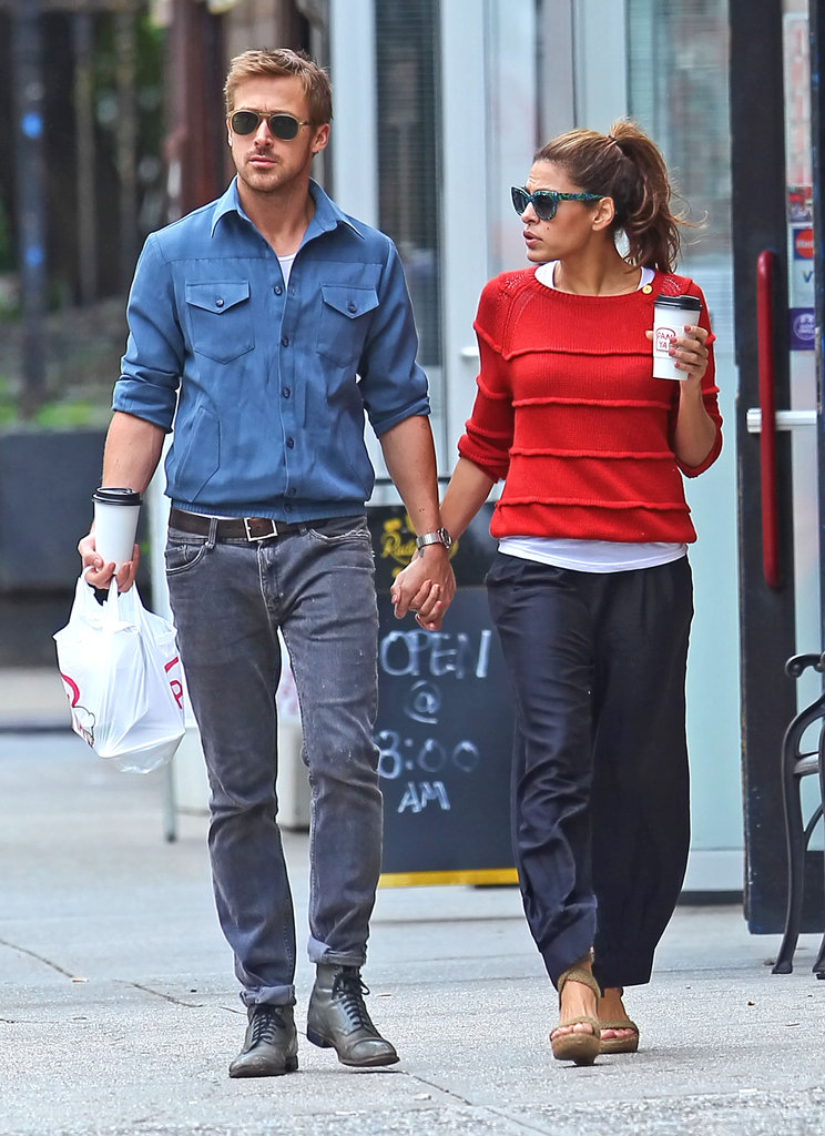 Ryan Gosling and Eva Mendes were together.