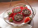 Agave-Kissed Strawberry Muffins