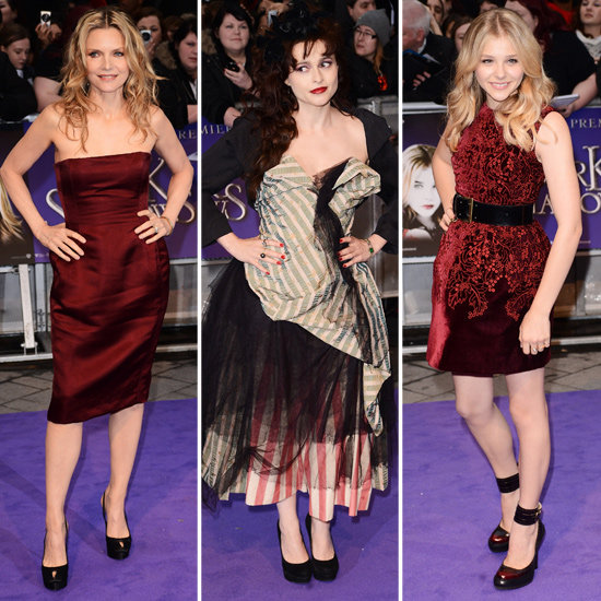 Textures Rule at Dark Shadows London Premiere