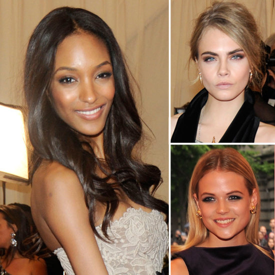 Get British Models' Met Gala Burberry Beauty Looks