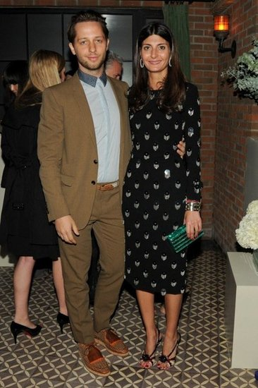 Derek Blasberg and Giovanna Battaglia