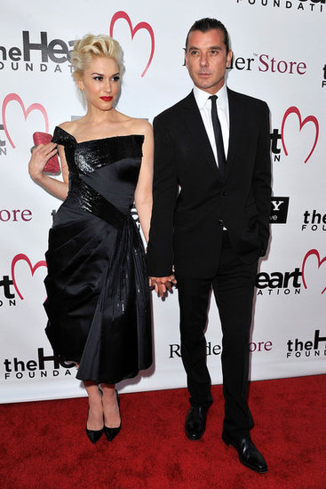 Gwen and Gavin Hold Hands at the Heart Foundation Gala