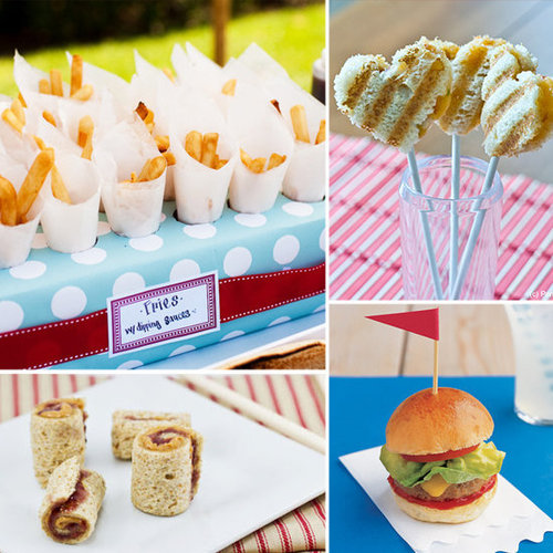 Big day, little bites! Lil has all the best wedding food ideas for the kids' table.