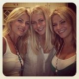 Julianne Hough posed with her sisters. Source: Instagram user juleshough