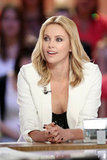 Charlize Theron sat down on a Paris talk show.