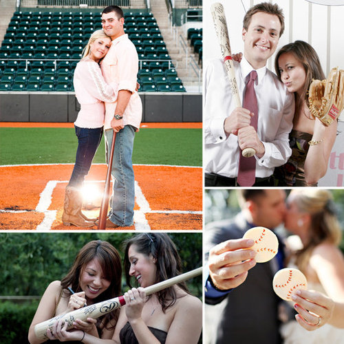Calling all sports fanatics! Très is showing you how to incorporate baseball into your wedding.