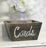 Rustic Wedding Card Holder