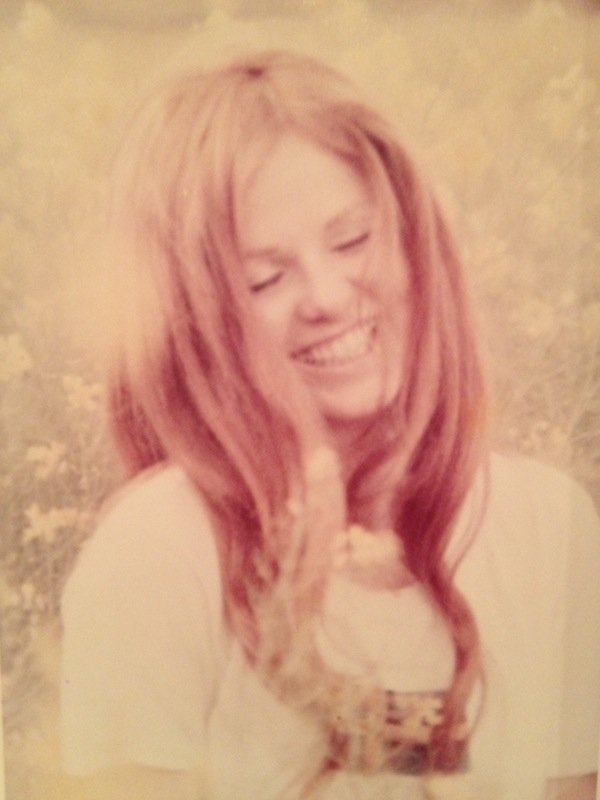 We love this pretty picture of assistant managing editor Stacy Faber's mother.
