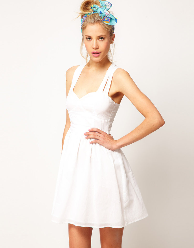 When we think LWD, this sweetheart piece instantly comes to mind.  ASOS Summer Dress With Sweetheart Neck ($38)