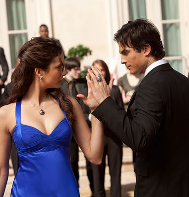 Season 1, Episode 19: Miss Mystic Falls...Damon and Elena