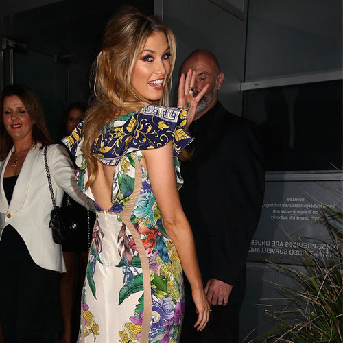 See Delta Goodrem's Lisa Ho Outfit From The Voice Live Show Launch at Icebergs From All Angles!