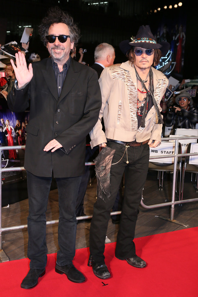Johnny and Tim Bring Dark Shadows to Tokyo