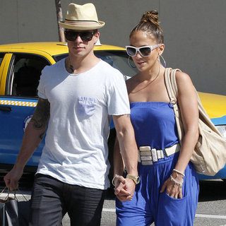 J Lo and Casper PDA Pictures in LA