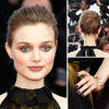 Bella Heathcote's Smoldering Cannes Red Carpet Beauty Look