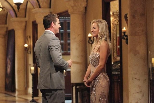 Brent and Emily Maynard on The Bachelorette.