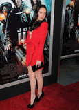A red-hot Megan Fox hit the carpet for the June 2010 LA premiere of Jonah Hex.