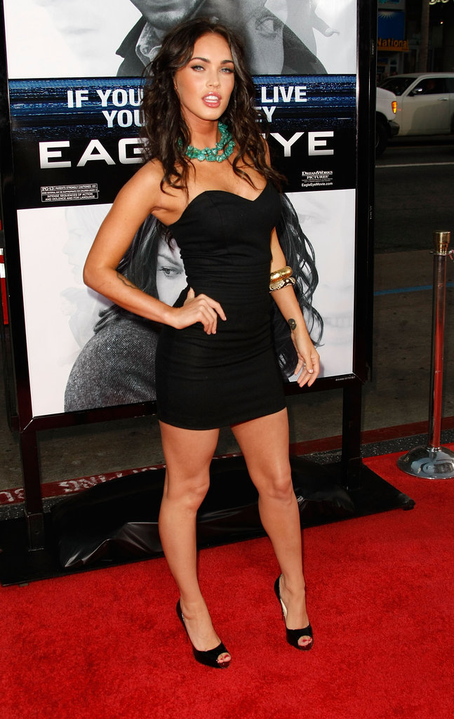 Megan Fox rocked a LBD for the September 2008 premiere of Eagle Eye.