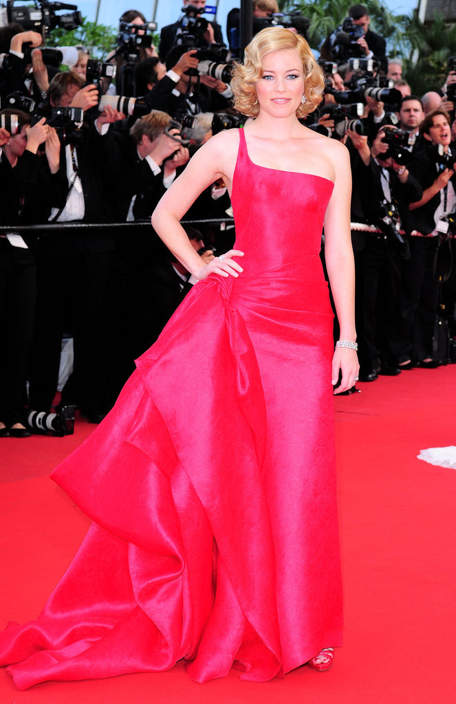 Elizabeth Banks wowed in a red gown for the Up premiere during the 62nd annual Cannes Film Festival in 2009.
