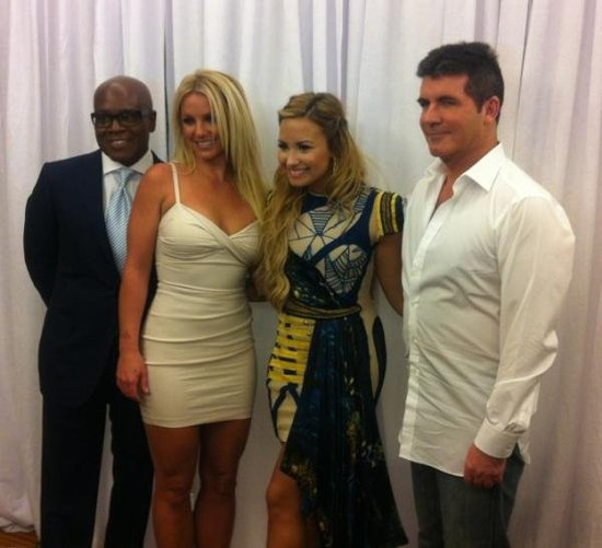 Britney Spears and Demi Lovato are the new judges for X Factor.