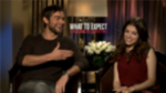 "Anna Kendrick and Chace Crawford Talk Baby Wrangling and ""Creepy"" Infants"