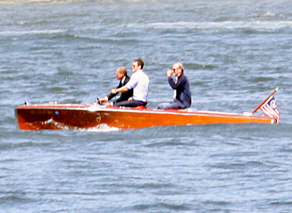 Justin Timberlake filmed scenes on a boat for Friends With Benefits in NYC in 2010.