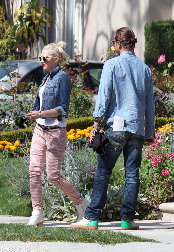 Gwen Stefani and Gavin Rossdale spent Mother's Day with family in LA.