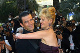 Antonio Banderas and Melanie Griffith in 2001