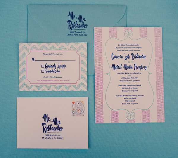 Vintage-Chic Invitation Suite