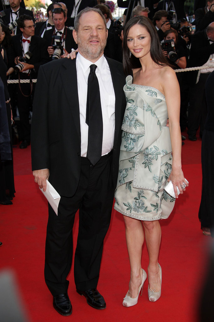 Harvey Weinstein and Georgina Chapman in 2009