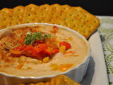 White Bean Dip With Roasted Red Peppers