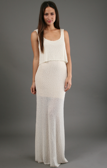 Eternal Sunshine Creations Ivory Maxi ($194)