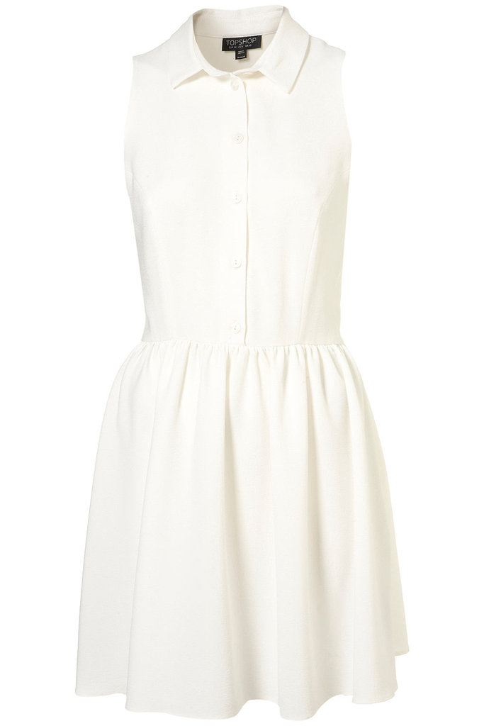 Topshop Crepe Shirtdress ($80)