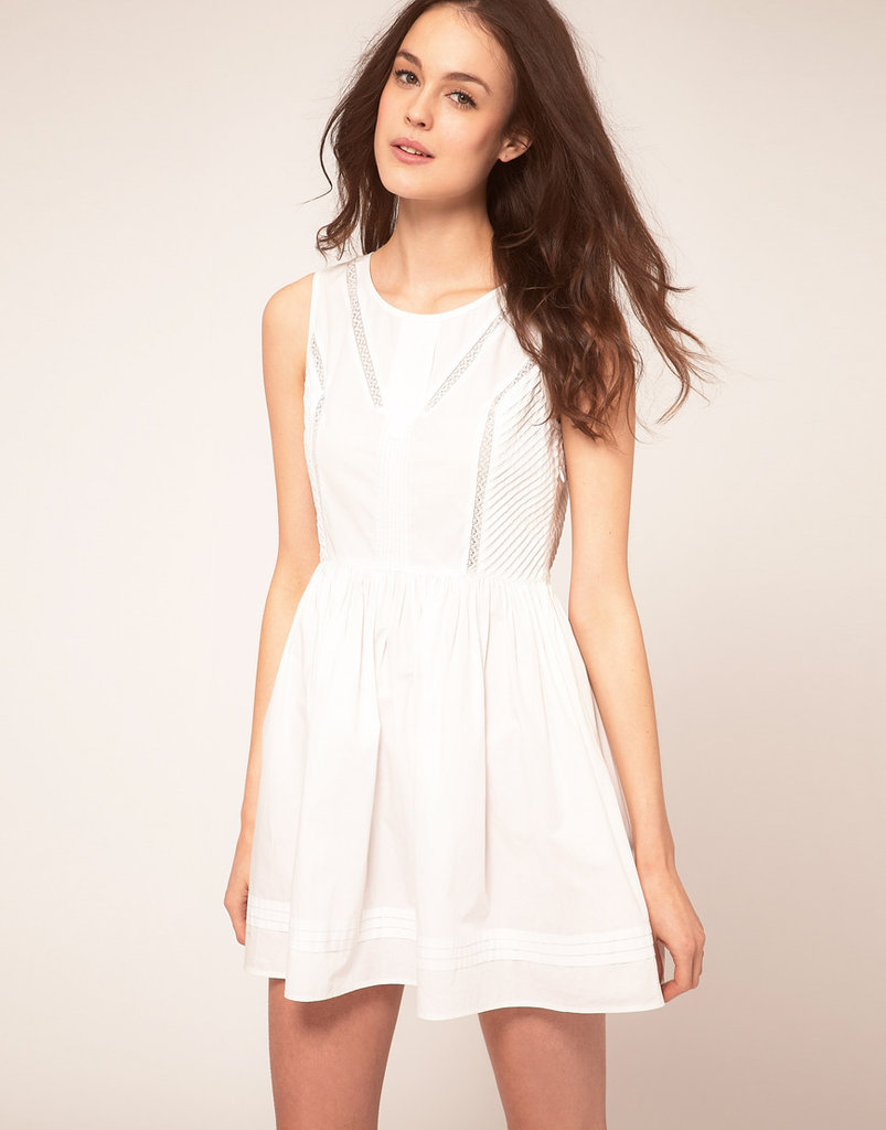 Vanessa Bruno Athe Sleeveless Dress With Full Skirt & Seam Detail ($288)