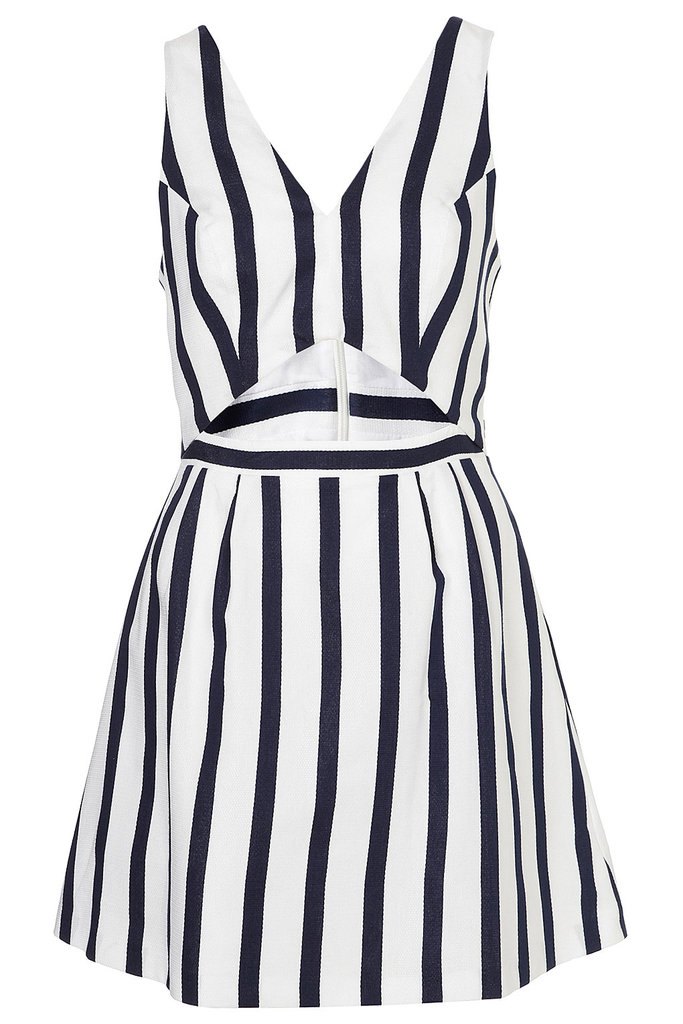 Trust us — you'll be the belle of the barbecue in this '50s-chic cutout dress. Topshop Stripe Cut Out Sun Dress ($76)