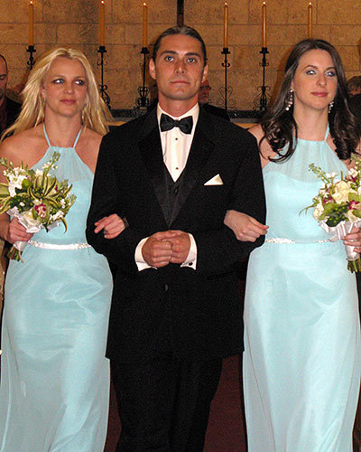 Britney Spears's Walk Down the Aisle