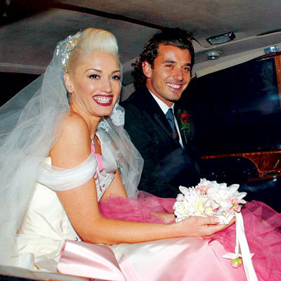 Gavin Rossdale and Gwen Stefani Go for a Spin