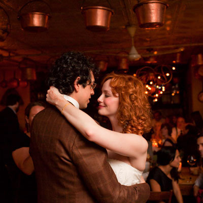Geoffrey Arend and Christina Hendricks's First Dance